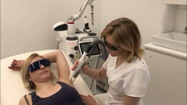 Lasersko odstranjevanje dlak