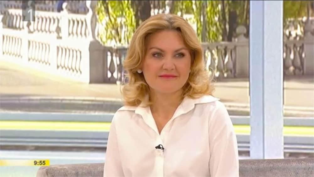 Dr. Vesna Tlaker v oddaji Dobro jutro o podočnjakih